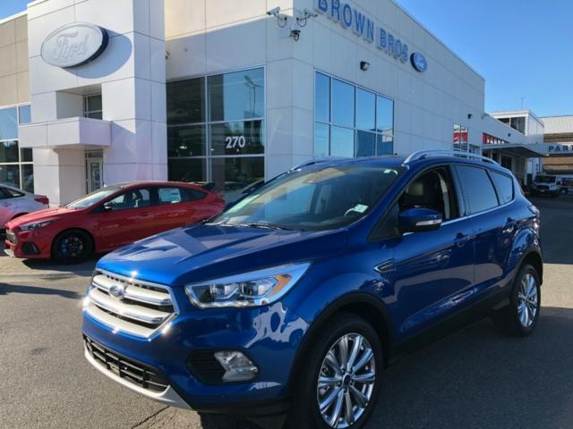 2017 Ford Escape Titanium (Stk: RP18198) in Vancouver - Image 1 of 26