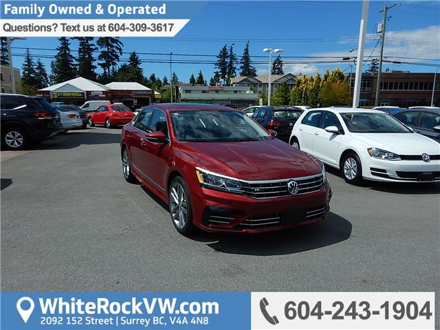 2018 Volkswagen Passat 2.0 TSI Highline (Stk: JP017147) in Surrey - Image 1 of 29