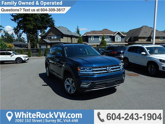 2018 Volkswagen Atlas 3.6 FSI Highline (Stk: JA564096) in Surrey - Image 1 of 29