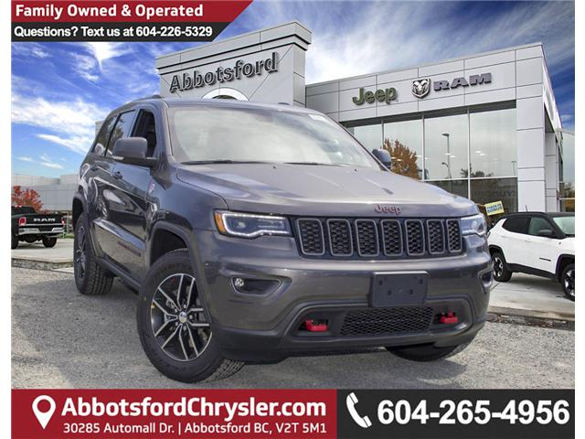 2018 Jeep Grand Cherokee Trailhawk (Stk: J410904) in Abbotsford - Image 1 of 26