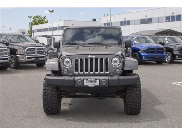 2017 Jeep Wrangler Unlimited Sahara (Stk: J251256AA) in Surrey - Image 2 of 25