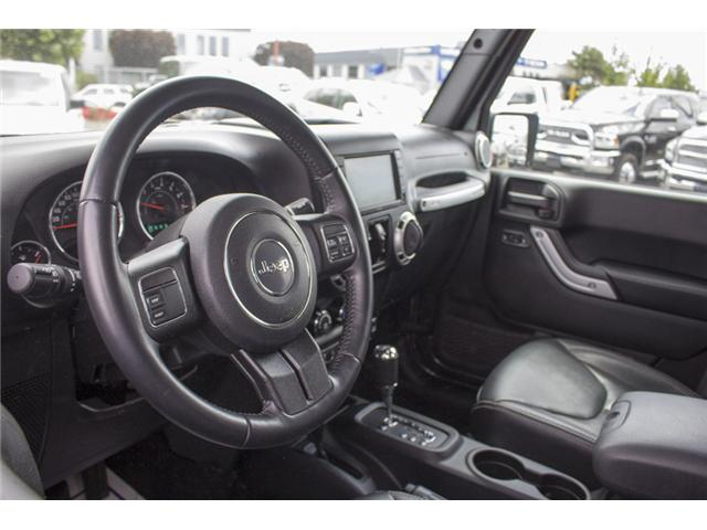 2017 Jeep Wrangler Unlimited Sahara (Stk: J251256AA) in Surrey - Image 11 of 25