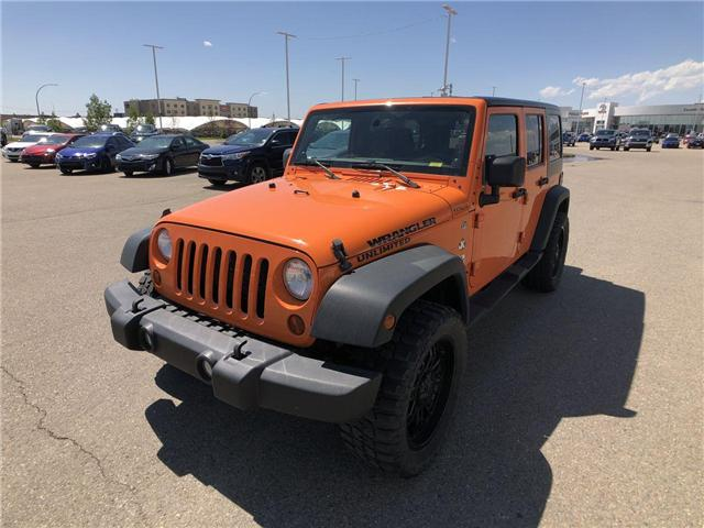 2013 Jeep Wrangler Unlimited Sport (Stk: 2800087B) in Calgary - Image 4 of 15
