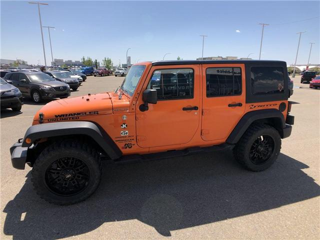 2013 Jeep Wrangler Unlimited Sport (Stk: 2800087B) in Calgary - Image 5 of 15
