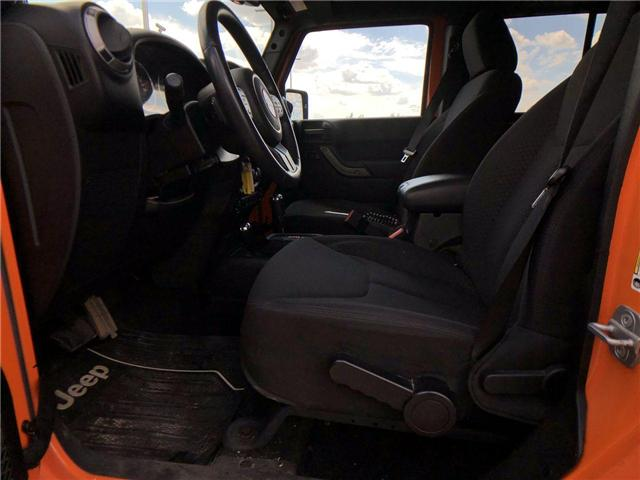 2013 Jeep Wrangler Unlimited Sport (Stk: 2800087B) in Calgary - Image 10 of 15