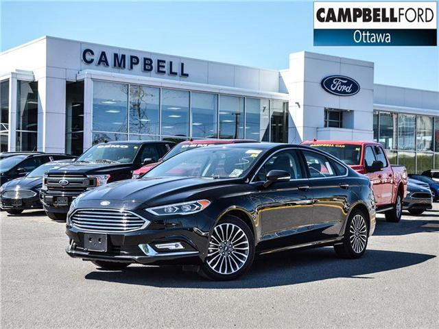 2017 Ford Fusion SE AWD-LEATHER-NAV-POWER ROOF (Stk: 942730) in Ottawa - Image 1 of 23