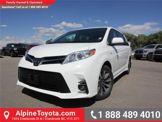 2018 Toyota Sienna  (Stk: S201139) in Cranbrook - Image 1 of 13