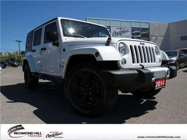 2014 Jeep Wrangler Unlimited Sahara (Stk: 180940A) in Richmond Hill - Image 1 of 13