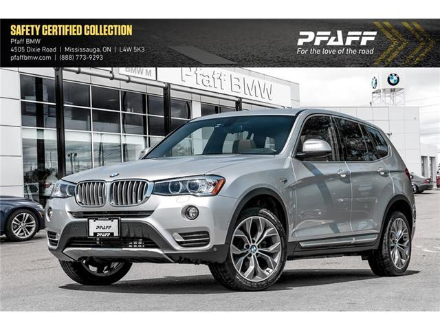 2017 BMW X3 xDrive28i (Stk: U5034) in Mississauga - Image 1 of 18