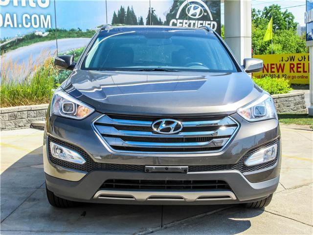 2014 Hyundai Santa Fe Sport 2.0T SE (Stk: U06193) in Toronto - Image 2 of 5