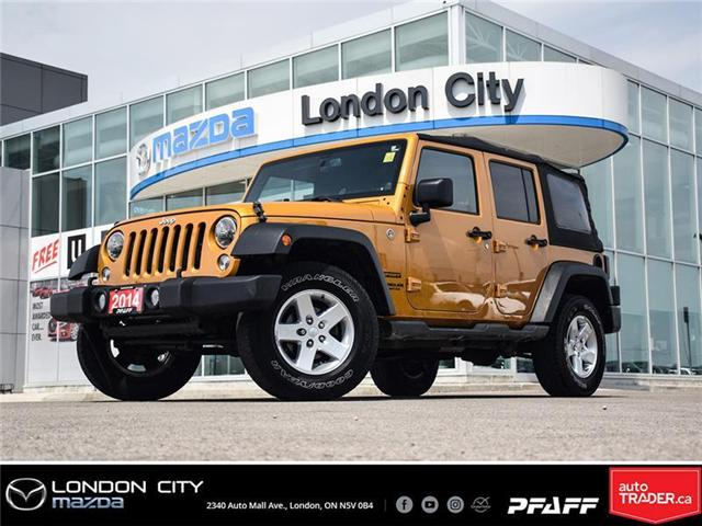 2014 Jeep Wrangler Unlimited Sport (Stk: LM9006B) in London - Image 1 of 17