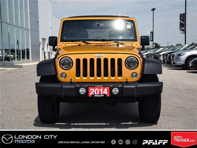 2014 Jeep Wrangler Unlimited Sport (Stk: LM9006B) in London - Image 2 of 17