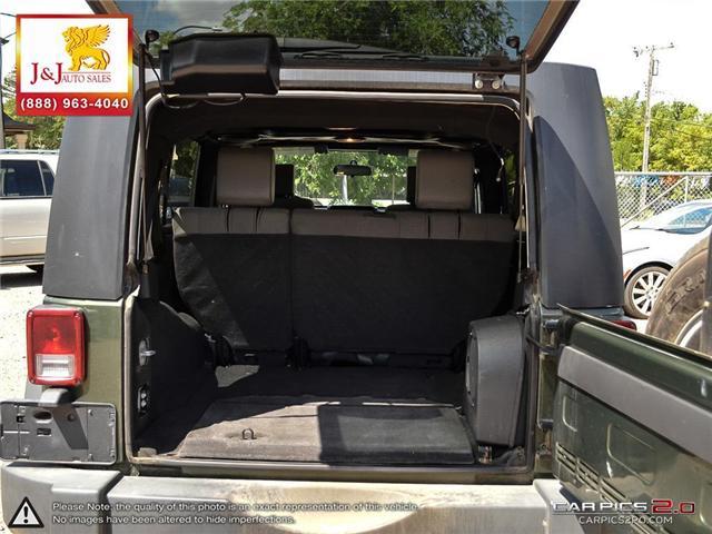 2008 Jeep Wrangler Unlimited X (Stk: ) in Brandon - Image 11 of 27