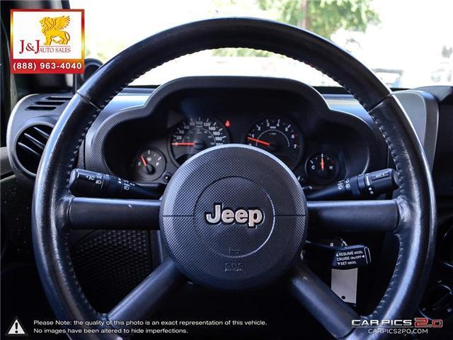 2008 Jeep Wrangler Unlimited X (Stk: ) in Brandon - Image 14 of 27