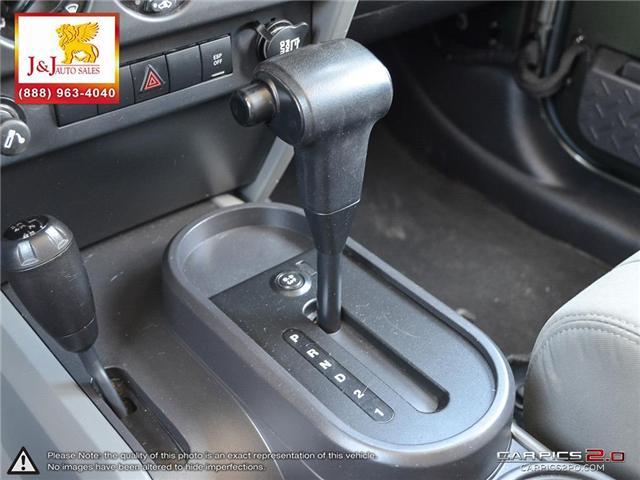 2008 Jeep Wrangler Unlimited X (Stk: ) in Brandon - Image 19 of 27