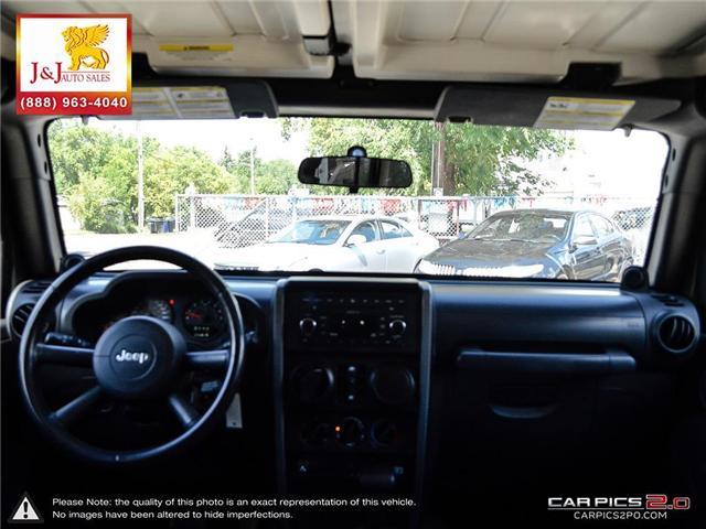 2008 Jeep Wrangler Unlimited X (Stk: ) in Brandon - Image 25 of 27