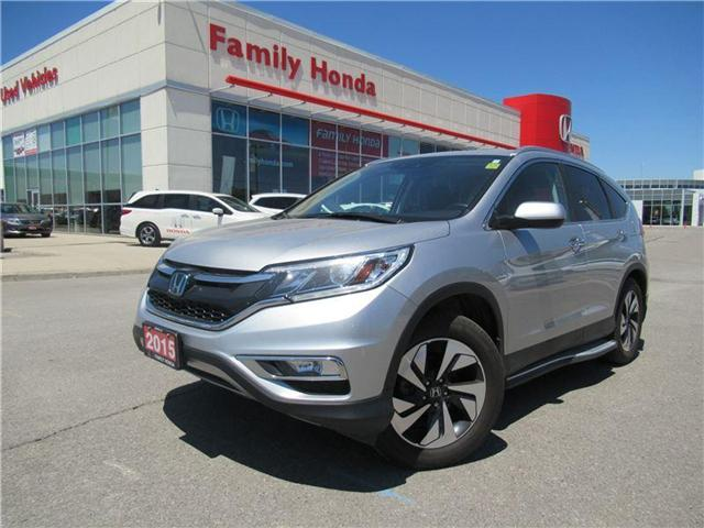 2015 Honda CR-V Touring, FREE EXTENDED WARRANTY!!! (Stk: 8500038A) in Brampton - Image 1 of 29