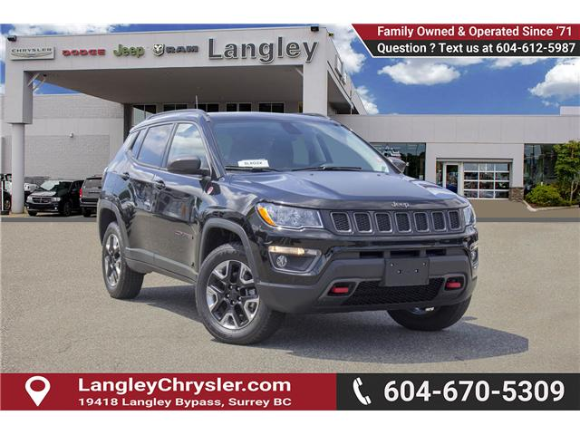 2017 Jeep Compass Trailhawk (Stk: EE893560) in Surrey - Image 1 of 26