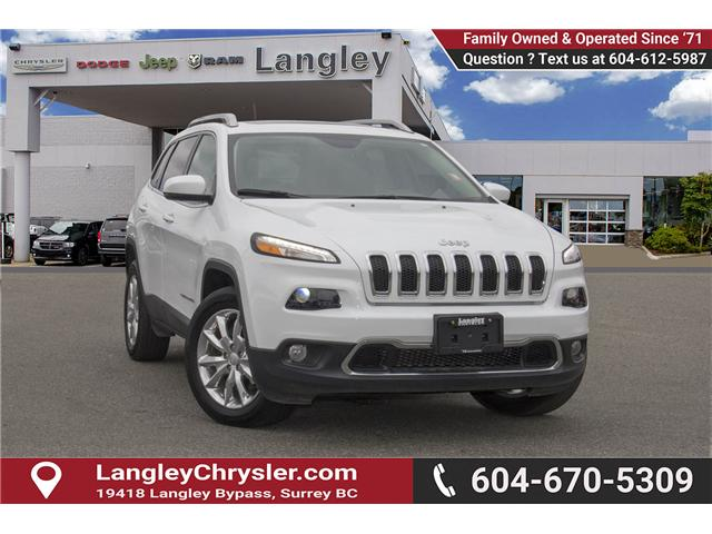 2017 Jeep Cherokee Limited (Stk: EE894070) in Surrey - Image 1 of 27
