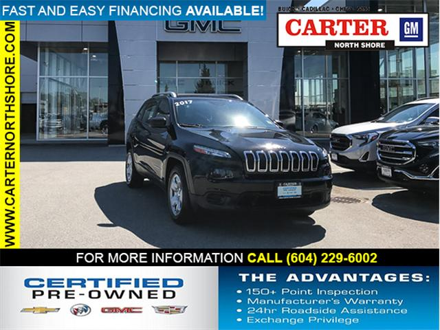 2017 Jeep Cherokee Sport (Stk: 971040) in Vancouver - Image 1 of 27