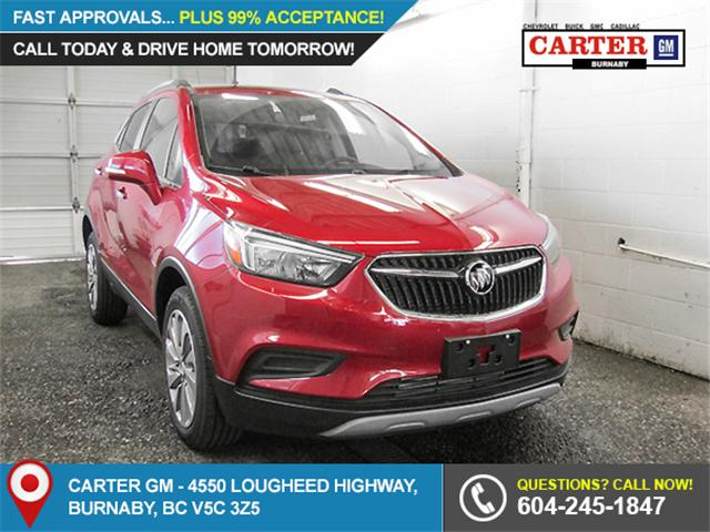 2018 Buick Encore Preferred (Stk: E8-01430) in Burnaby - Image 1 of 7