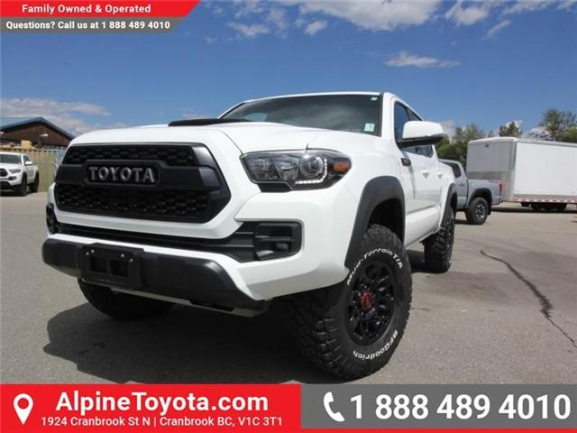 2017 Toyota Tacoma  (Stk: X729742A) in Cranbrook - Image 1 of 18