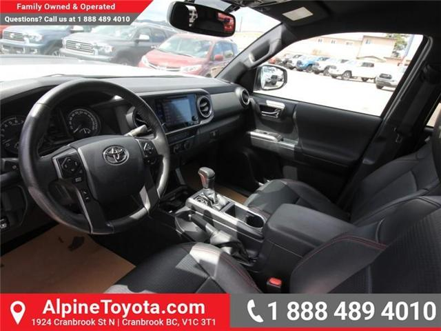 2017 Toyota Tacoma  (Stk: X729742A) in Cranbrook - Image 9 of 18