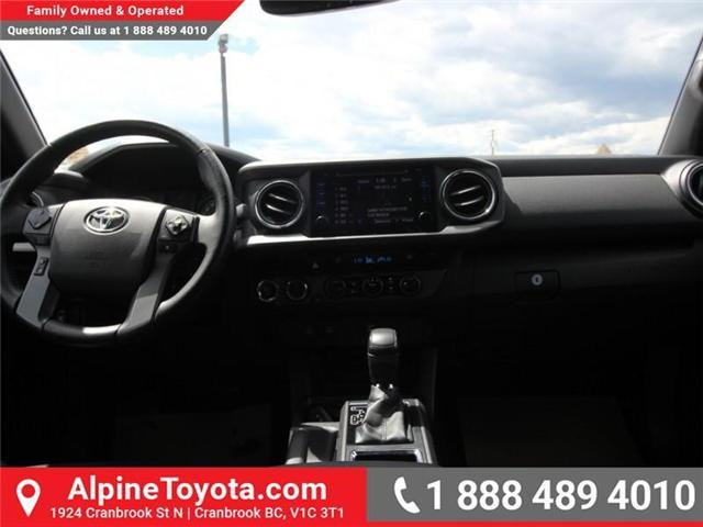 2017 Toyota Tacoma  (Stk: X729742A) in Cranbrook - Image 10 of 18