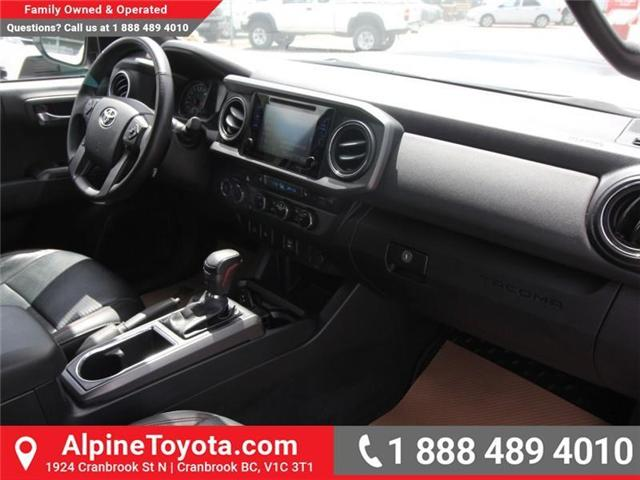2017 Toyota Tacoma  (Stk: X729742A) in Cranbrook - Image 11 of 18