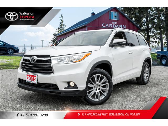 2015 Toyota Highlander XLE (Stk: 18355A) in Walkerton - Image 1 of 20