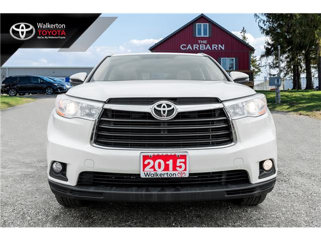 2015 Toyota Highlander XLE (Stk: 18355A) in Walkerton - Image 2 of 20