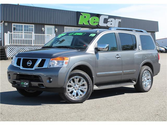 2015 Nissan Armada Platinum (Stk: 180705A) in Fredericton - Image 1 of 29