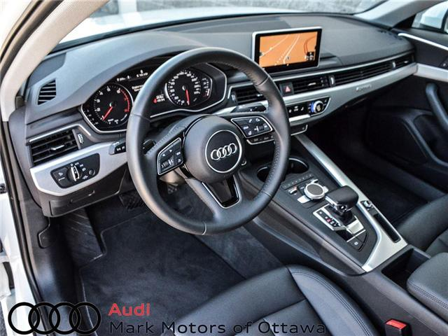 2018 Audi A4 2.0T Progressiv (Stk: 90250) in Nepean - Image 8 of 28