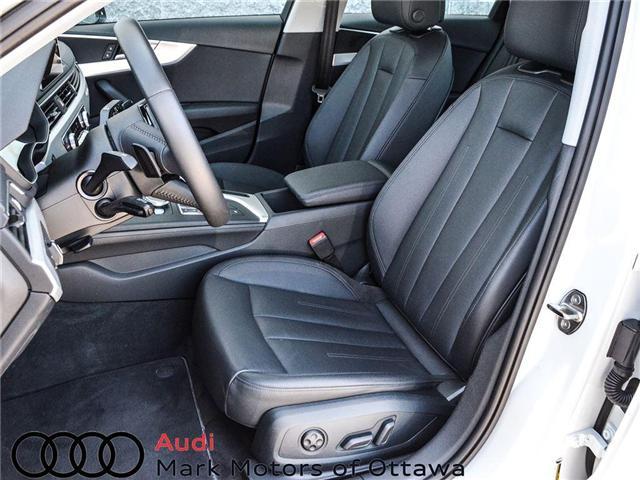 2018 Audi A4 2.0T Progressiv (Stk: 90250) in Nepean - Image 9 of 28