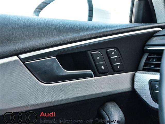 2018 Audi A4 2.0T Progressiv (Stk: 90250) in Nepean - Image 10 of 28