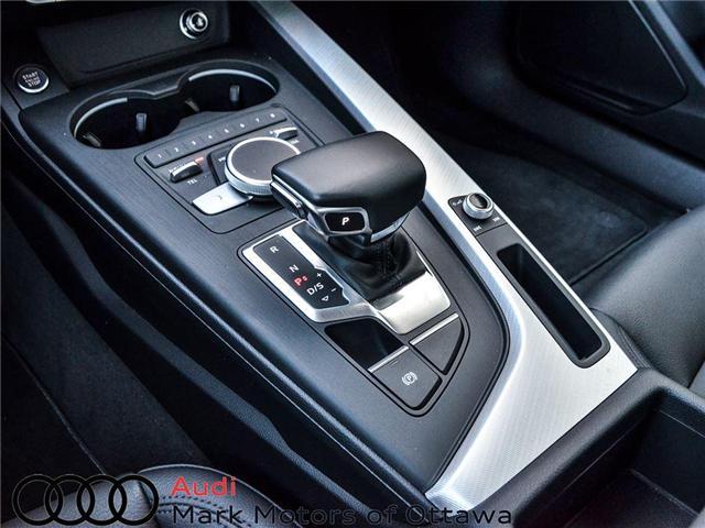 2018 Audi A4 2.0T Progressiv (Stk: 90250) in Nepean - Image 12 of 28