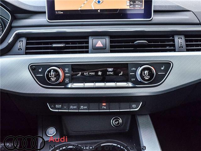 2018 Audi A4 2.0T Progressiv (Stk: 90250) in Nepean - Image 13 of 28