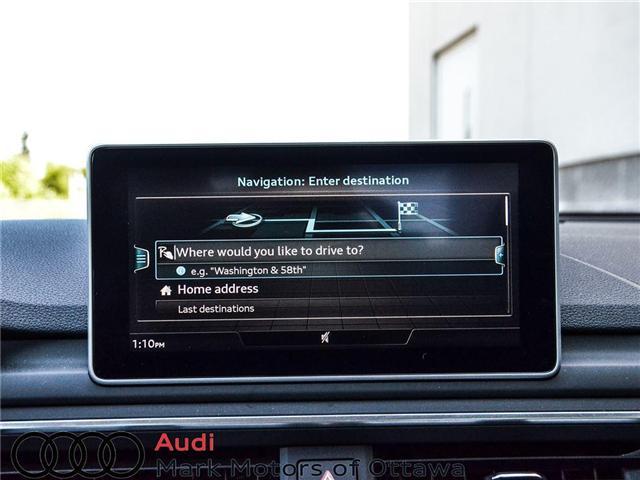 2018 Audi A4 2.0T Progressiv (Stk: 90250) in Nepean - Image 15 of 28