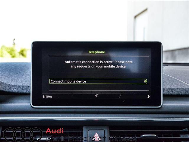 2018 Audi A4 2.0T Progressiv (Stk: 90250) in Nepean - Image 16 of 28