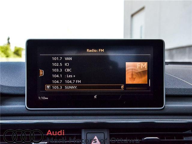 2018 Audi A4 2.0T Progressiv (Stk: 90250) in Nepean - Image 17 of 28