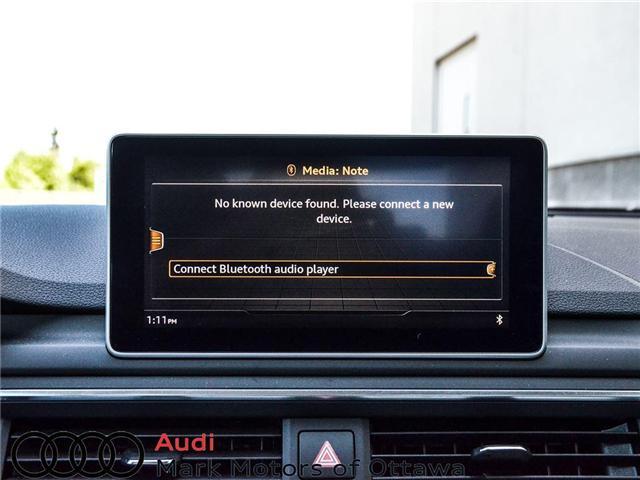 2018 Audi A4 2.0T Progressiv (Stk: 90250) in Nepean - Image 18 of 28