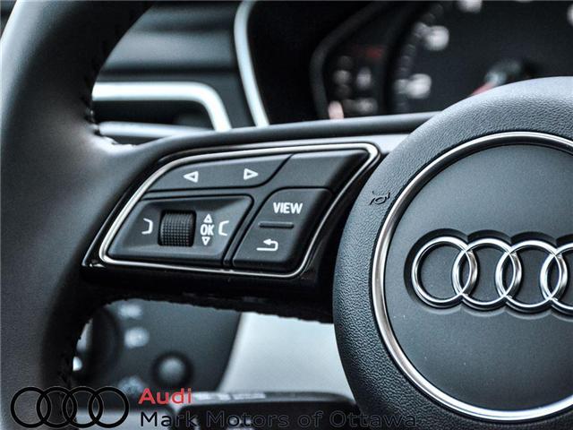 2018 Audi A4 2.0T Progressiv (Stk: 90250) in Nepean - Image 25 of 28