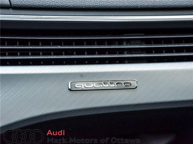 2018 Audi A4 2.0T Progressiv (Stk: 90250) in Nepean - Image 26 of 28