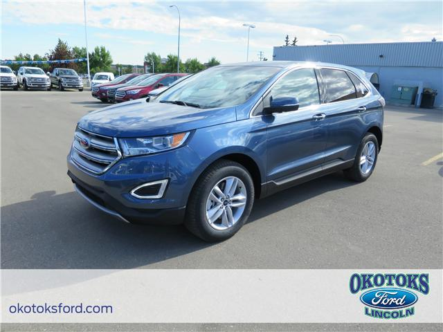2018 Ford Edge SEL (Stk: JK-399) in Okotoks - Image 1 of 5