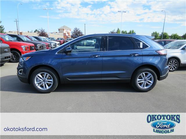 2018 Ford Edge SEL (Stk: JK-399) in Okotoks - Image 2 of 5