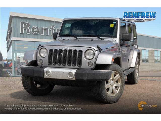 2015 Jeep Wrangler Unlimited Sahara (Stk: J080A) in Renfrew - Image 1 of 20