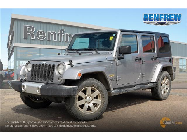 2015 Jeep Wrangler Unlimited Sahara (Stk: J080A) in Renfrew - Image 2 of 20