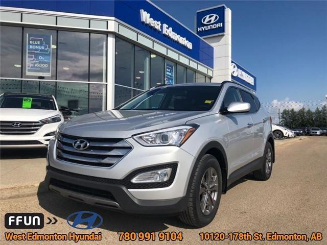 2014 Hyundai Santa Fe Sport  (Stk: 81111A) in Edmonton - Image 1 of 21