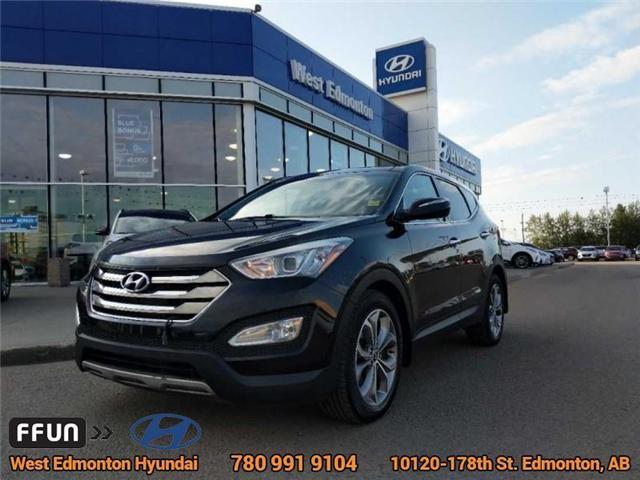 2013 Hyundai Santa Fe Sport  (Stk: E4005A) in Edmonton - Image 1 of 23