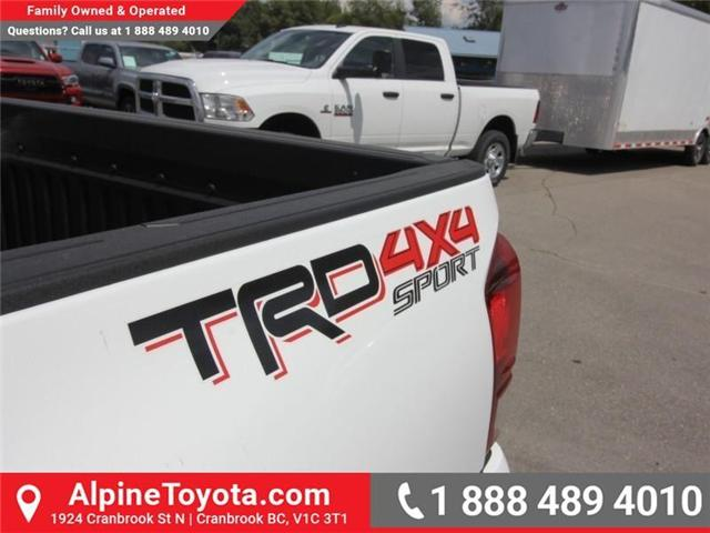 2018 Toyota Tacoma SR5 (Stk: X035716) in Cranbrook - Image 17 of 18